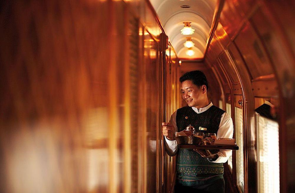 Service an Board, Eastern & Oriental Express, Malaysia Thailand Reise
